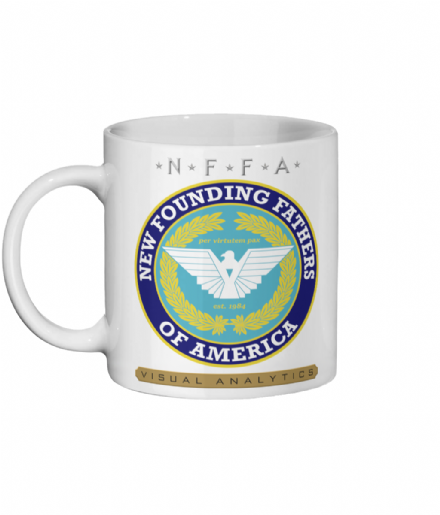 New Founding Fathers of America Visual Analytics Ceramic Mug from The Purge